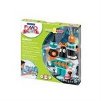 Fimo kids form and play robots