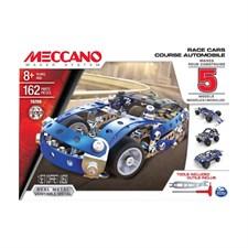 Course automobile 5 modeles meccano