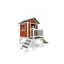 Maisonnette en bois sunny lodge xl rouge