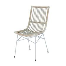 Chaise remi en rotin kubu