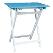 Petite table pliante rectangulaire