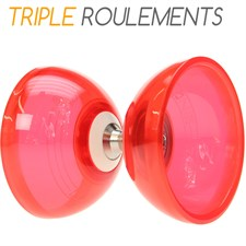 Diabolo triple roulements cyclone quartz