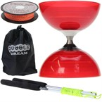 Kit diabolo beach free rouge + baguettes
