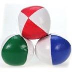 Lot de 3 balles de jonglage 120g