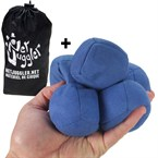 Lot de 5 balles de jongle uglies bleues