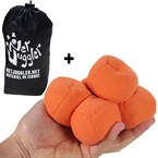 Lot de 5 balles de jongle uglies oranges