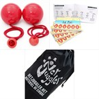 Bolas contact 80 rouge + guide les bolas
