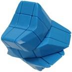 Rubik's cube : etoile bleu