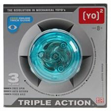 Yoyo triple action active people couleur