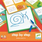 Jeu éducatif step by step animals and co