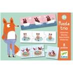 Puzzle trio +3y histoires djeco