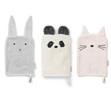 3 gants de toilette sylvester girl liewo