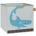 Boîte rangement requin laessig