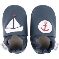 Chaussons bébé 9-15 mois navy nautical b