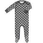 Pyjama bébé 0-3m ananas fresk anthracite