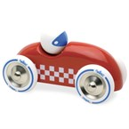Voiture rallye checkers gm rouge
