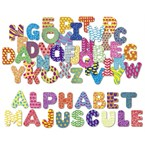 Magnets alphabet majuscule