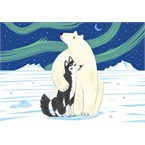 L'ours et le husky