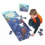 Puzzle géant sous la mer