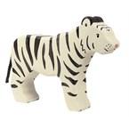 Tigre blanc, debout
