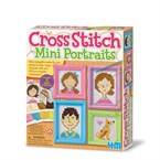 Kit broderie - mini portraits 4m