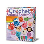Kit creatif broches animaux 4m
