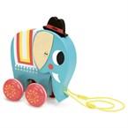Vito l'éléphant à trainer