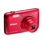 Compact coolpix a300 rouge
