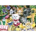 Les chatons au bain - puzzle 260 pcs