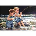 Pêcheurs en herbe - puzzle 260 pcs