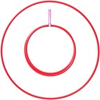 Perfect hoop 16mm pliable rouge
