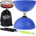 Kit diabolo circus free bleu avec baguet