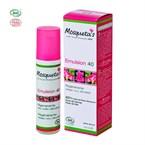 Emulsion 40 bio à l'huile de rose musqué