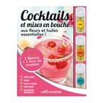Livre coffret cocktails aux cristaux HE