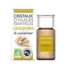 Cristaux d'huiles essentielles gingembre
