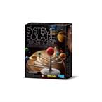 Planétarium système solaire fluorescent