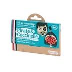 Kit de maquillage 3 couleurs pirate