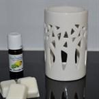 Brûle parfum forêt blanc