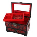 Grande boite a bijoux - motif japonais