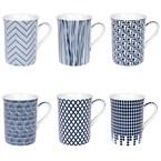Table passion - coffret 6 mugs 30 cl