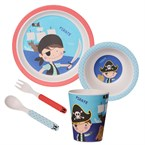 Coffret 5 pieces bambou pirate