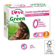Love & green - 52 couches (t3) - 4/9kg