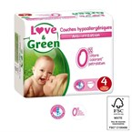Love & green - 46 couches (t4) - 7/14kg