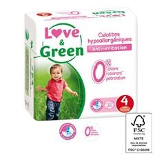 Love & green - 20 couches d'apprentissag