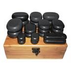 Kit 22 pierres chaudes pour le corps