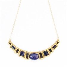 Collier osiris lapis lazuli