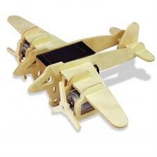 Maquette solaire - avion bimoteur