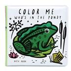 Livre de bain à colorier - etang