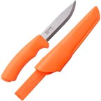 Couteau de survie mora bushcraft orange