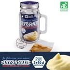 Bocal pour faire sa mayonnaise